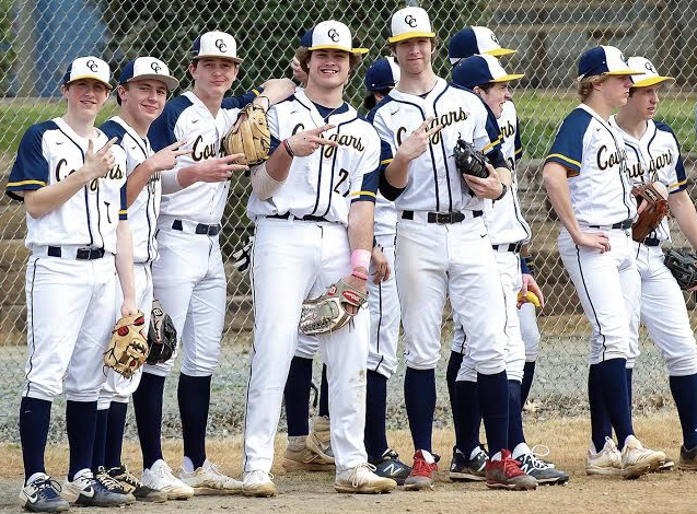 The CCS Baseball team is overjoyed at the opportunity to be able to all play together again. Players were saddened over the the initial quarantine and cancellation of the season. Eight schools agreed to play in  tournament style games.