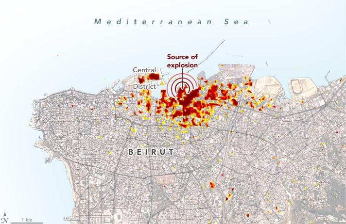 Life Shattering Explosion Leaves Lebanon in Shambles