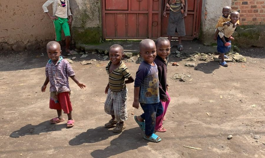 Here pictured are children that Riley worked with while on her mission trip in Africa. This was a transformative trip for Riley in 2019.