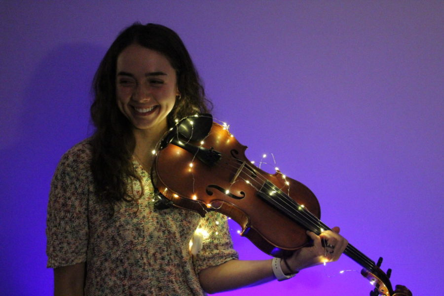Ginger is a senior at CCS and plays viola in Ignite.  She has been playing since she was five. Ginger has always had  a passion for music.