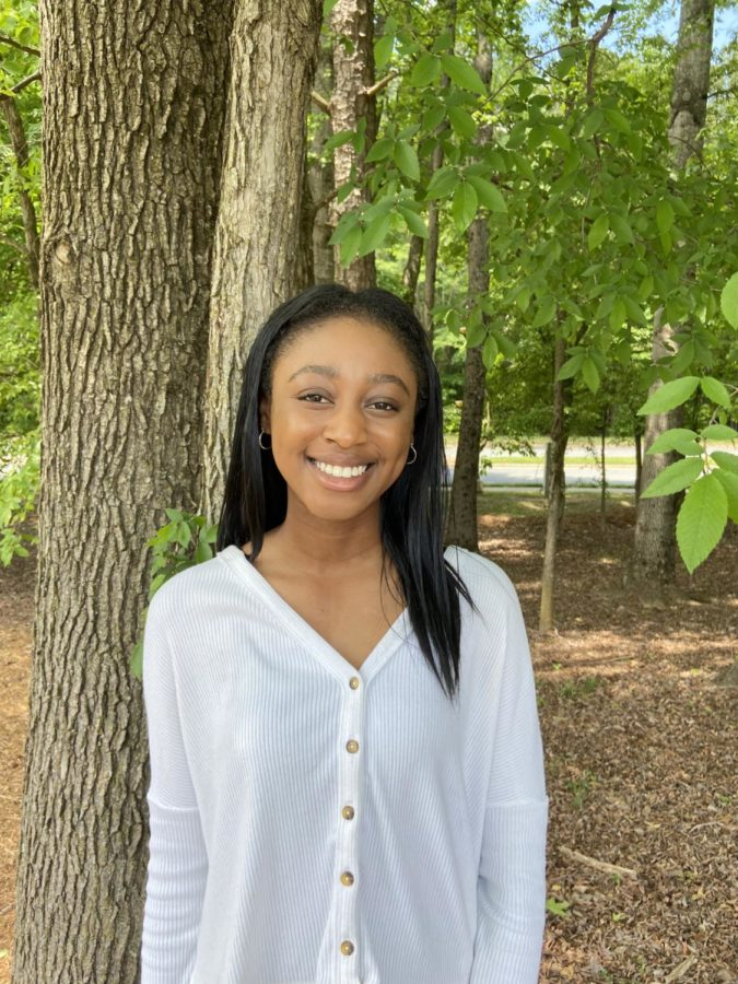 Senior Krystal Uzomba plans to attend University of North Carolina at Chapel Hill in the fall. She served on both Student Government Association and National Honor Society. She distinguished herself through her academic and service achievements.